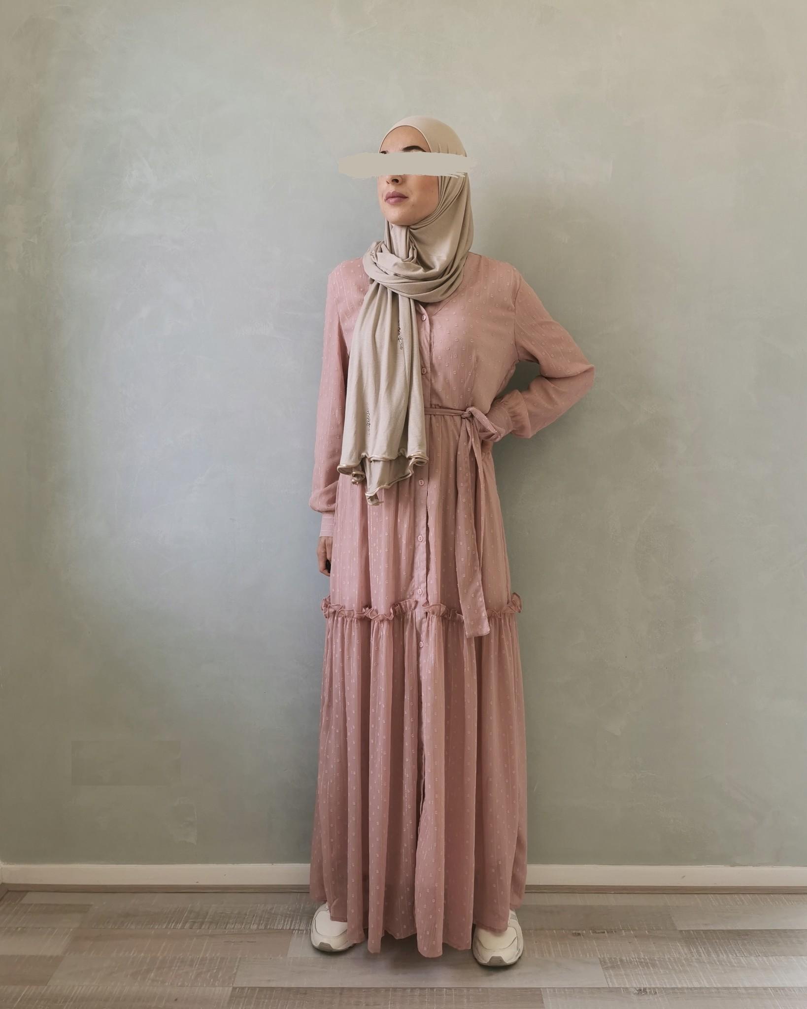 dress aprica roze