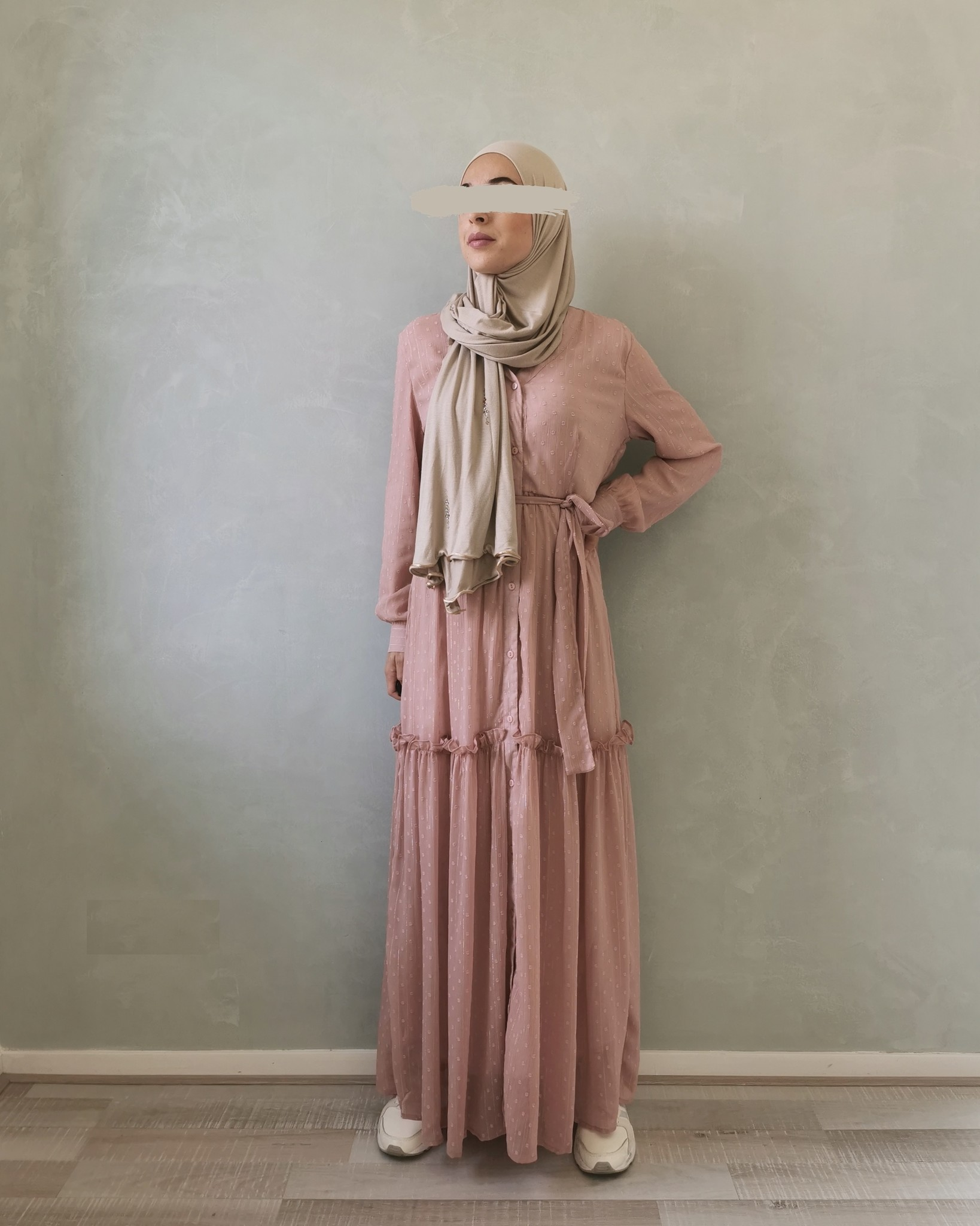 jurk aprica roze