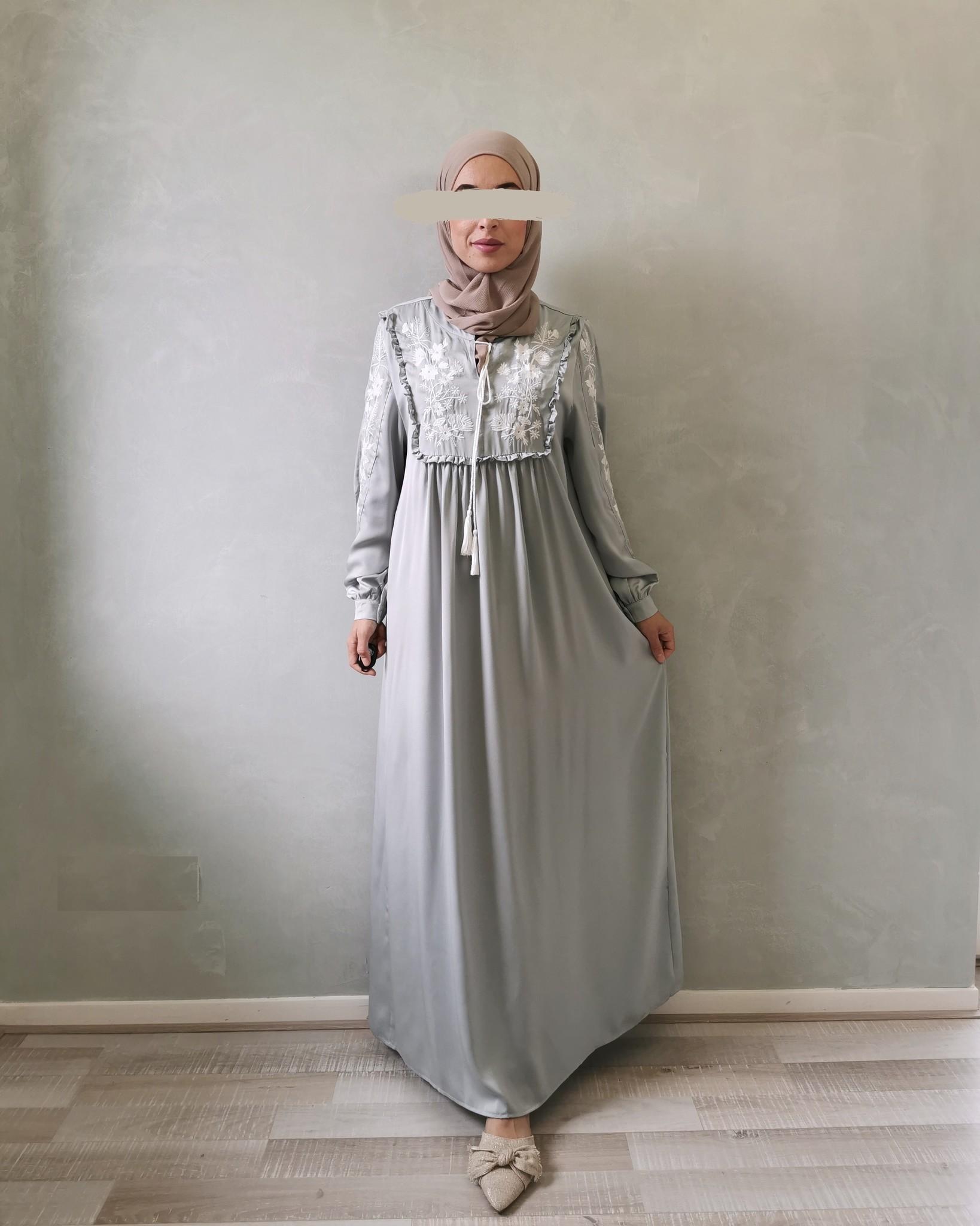 jurk busnago blauw