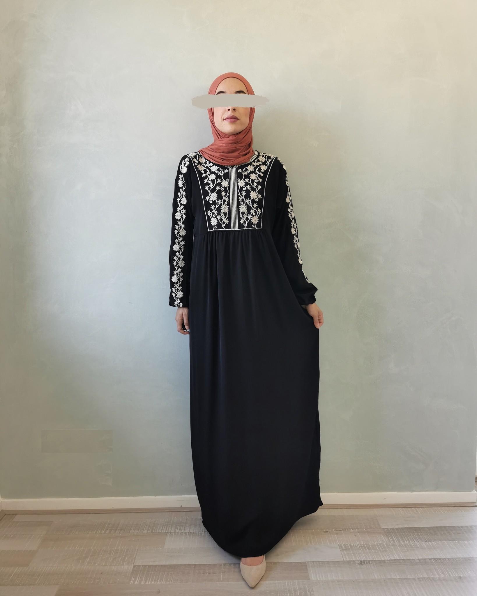 jurk caninio zwart