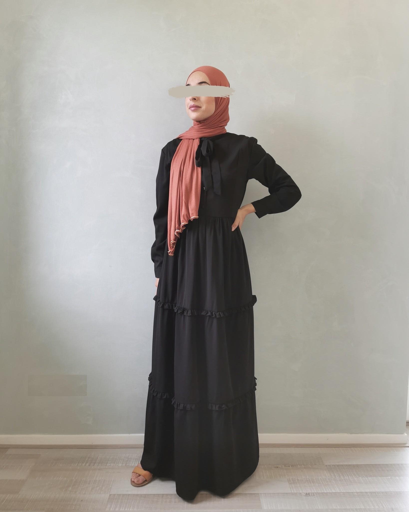 dress alba  zwart