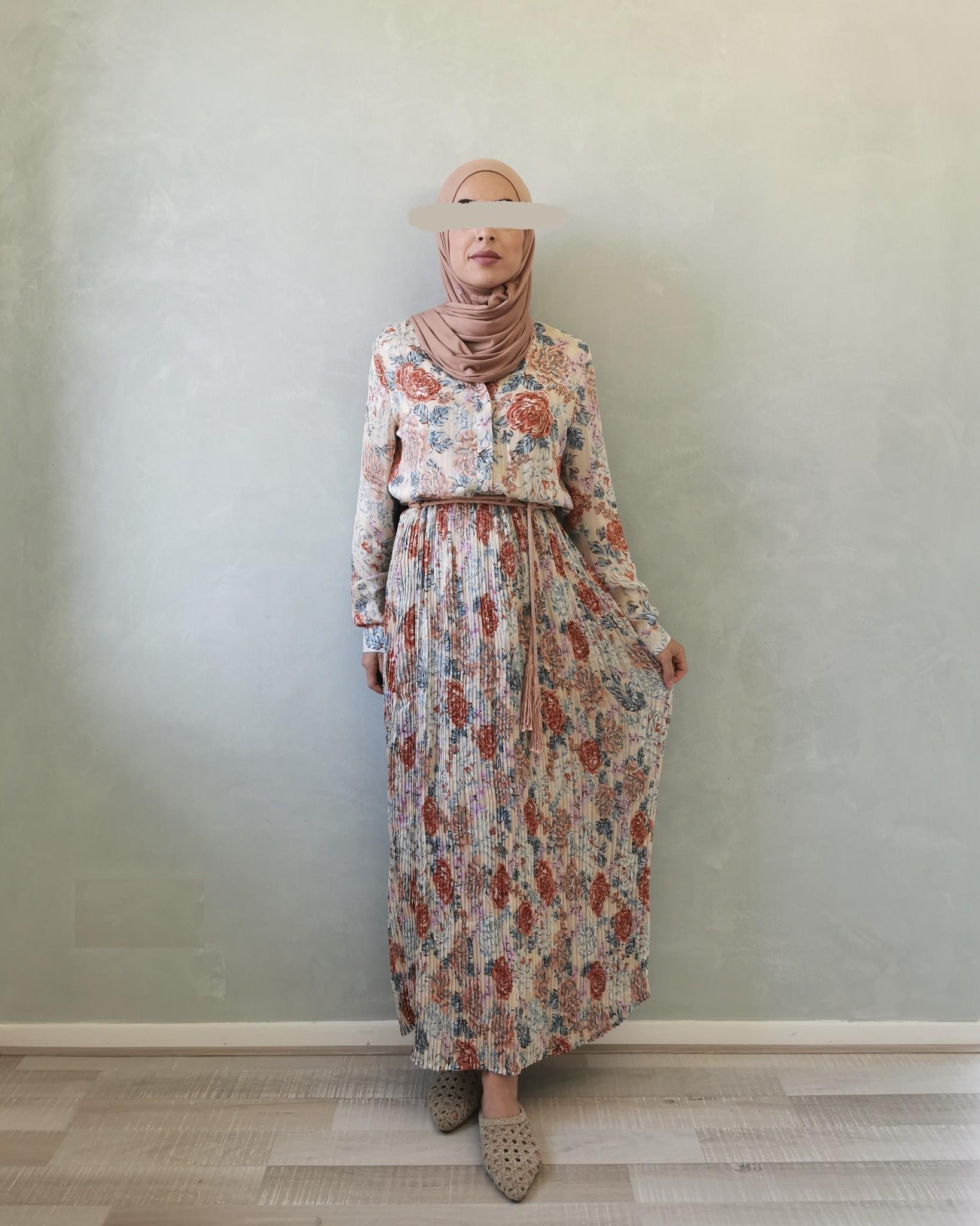 jurk gorizia blauw