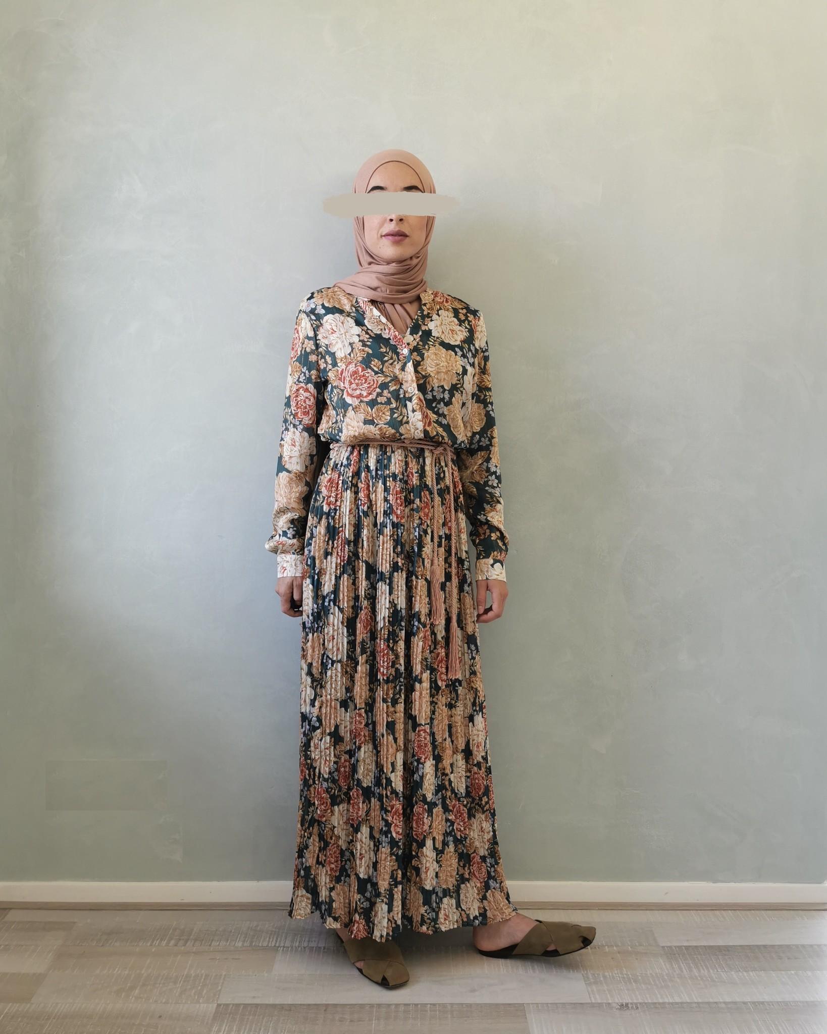 jurk gorizia groen