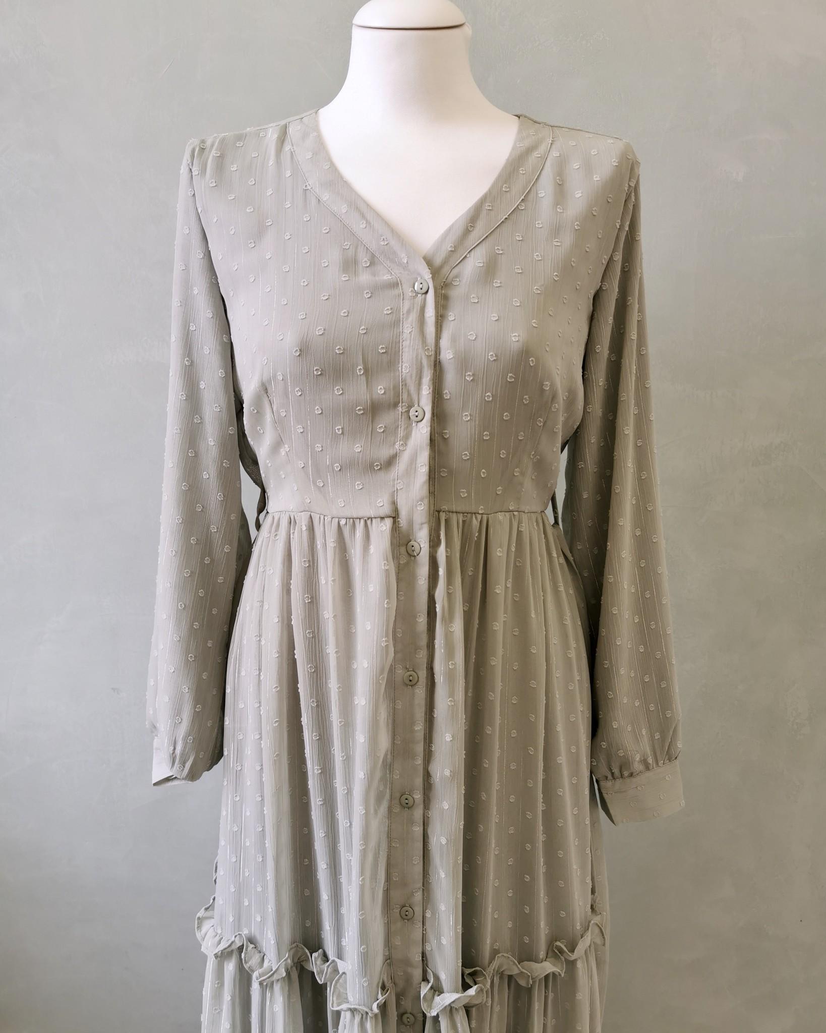 jurk aprica  mintgroen