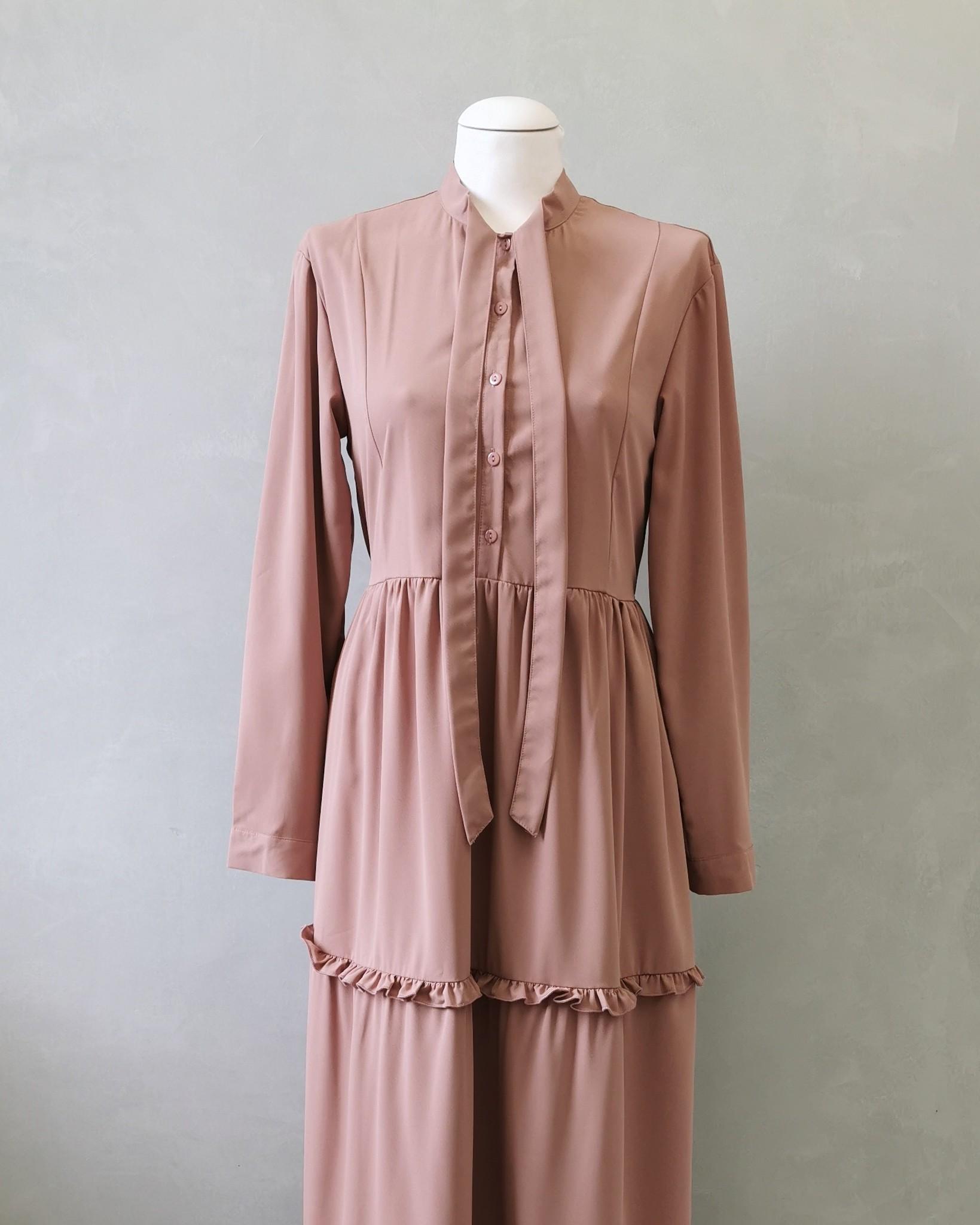 dress alba roze