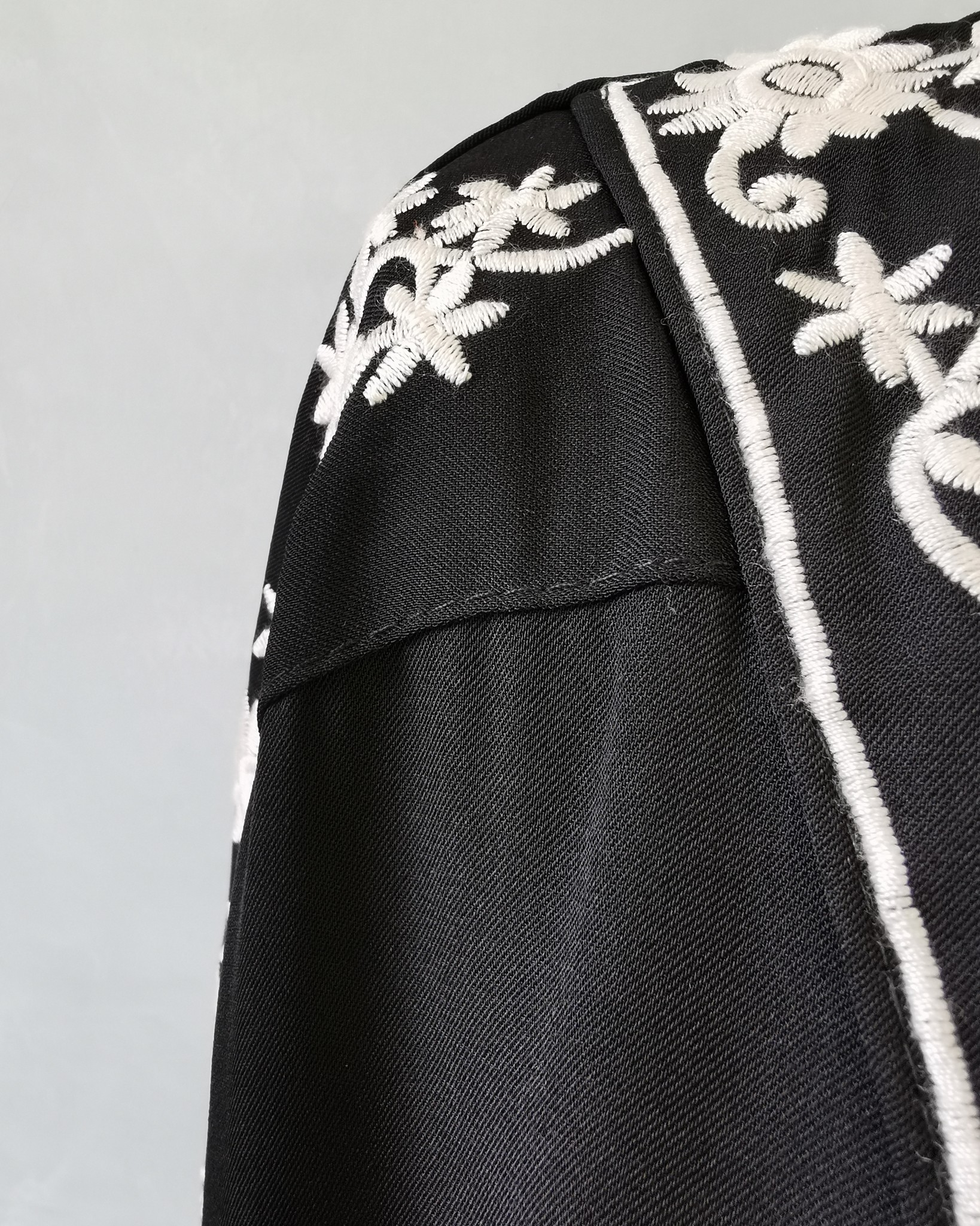 dress caninio zwart