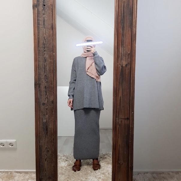 Setje viola grey