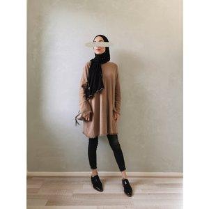 Wisp sweater viglio beige-brown