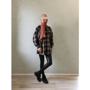 Checked shirt clevedon brown