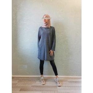 Wisp sweater viglio grey