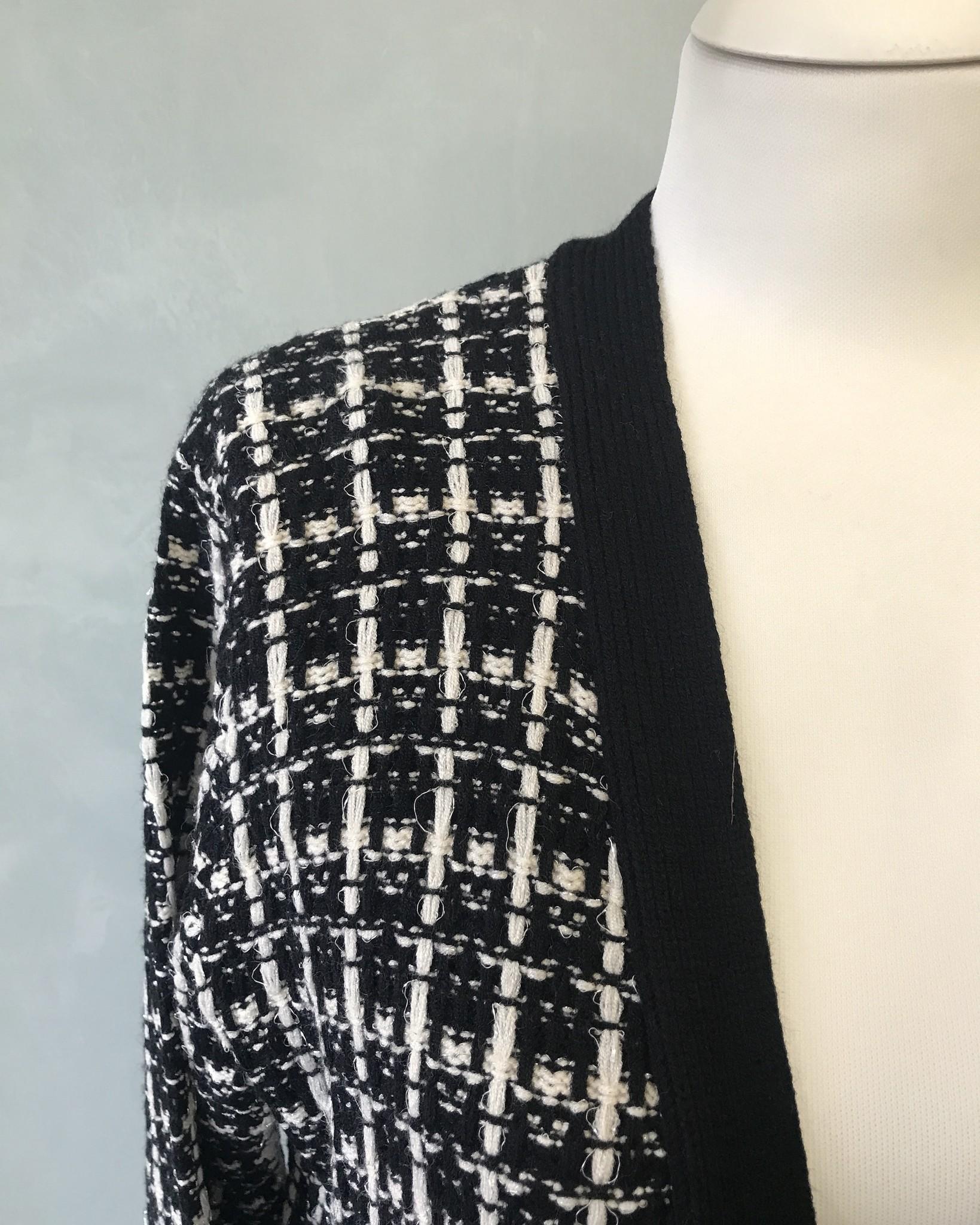 Vest crowle zwart