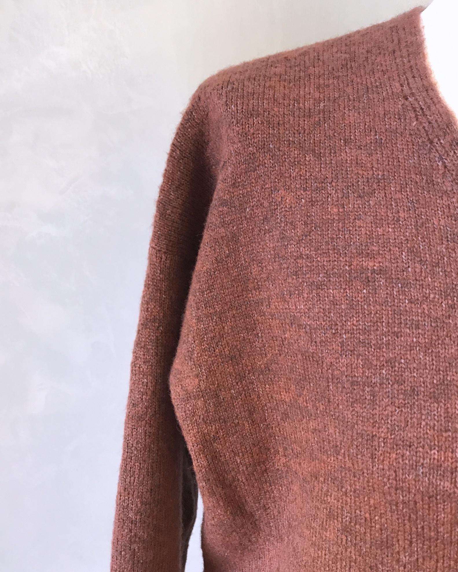 sweater dodici roestbruin