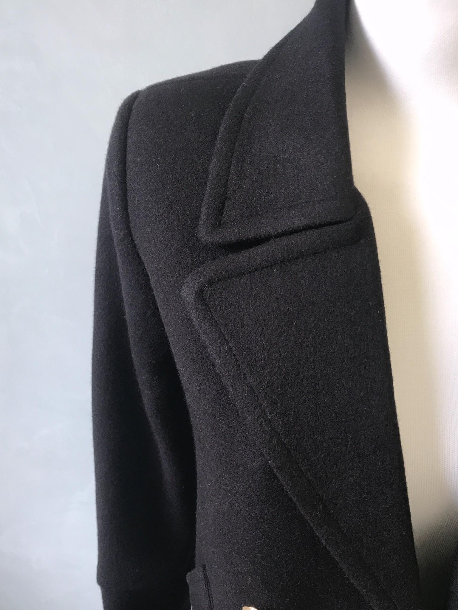 Manteljas cetraro zwart