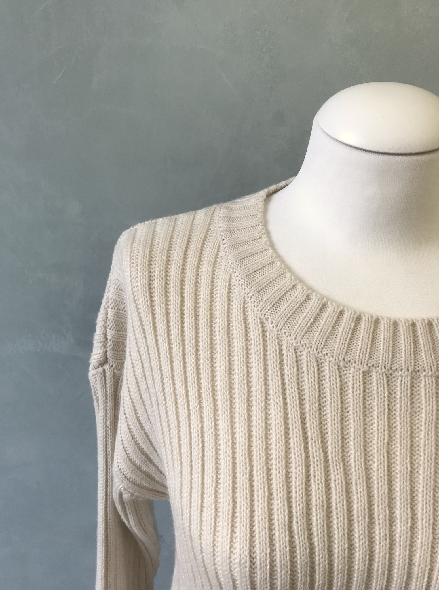 Sweater belaria green off white