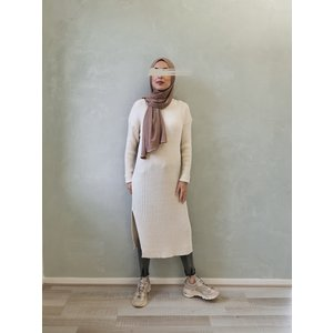 Sweater belaria green off white