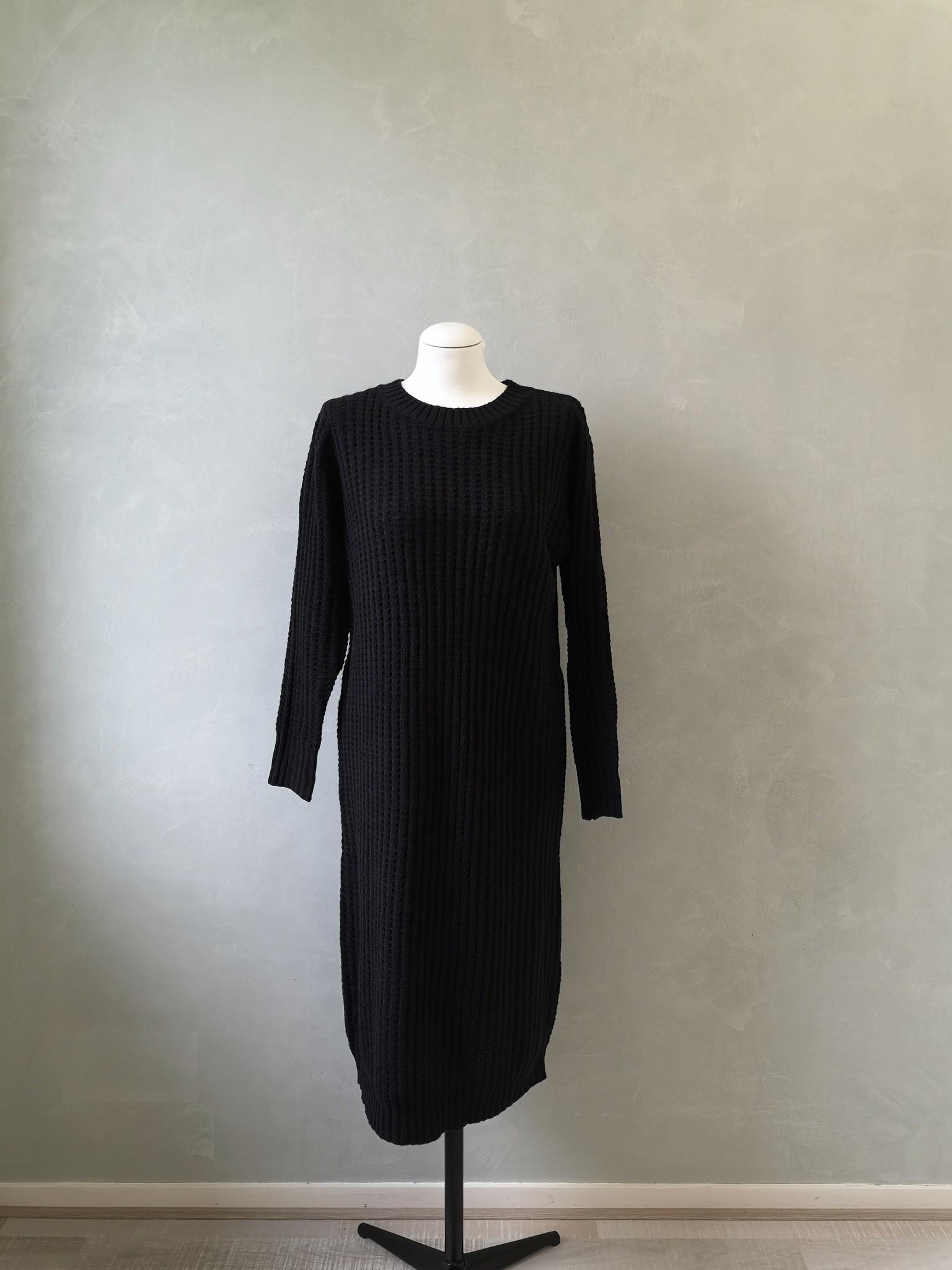 Knitted sweater cromer zwart