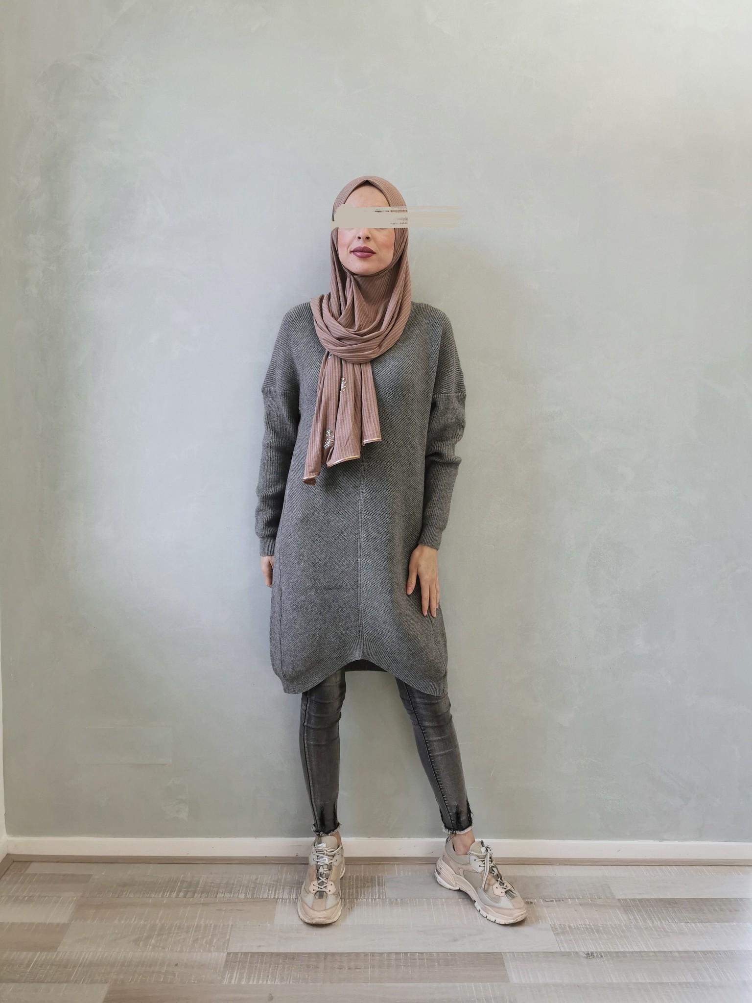 sweater carega grey