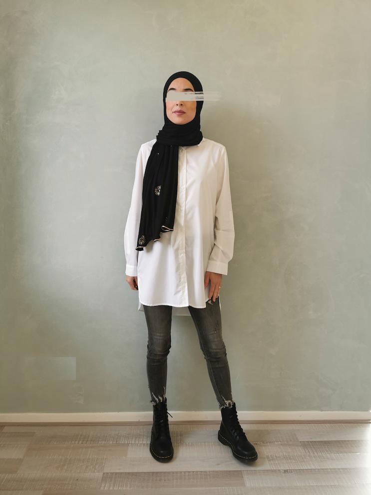 Basic shirt pisa white