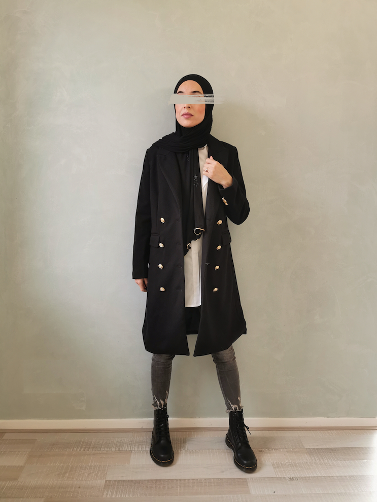 coat grotteria black