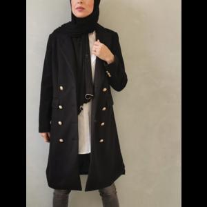 coat grotteria black