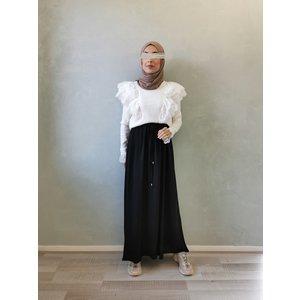 maxi skirt Santa Cruz black