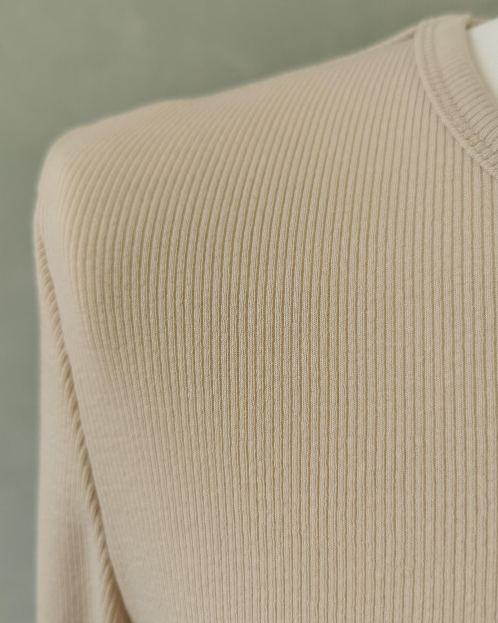 Jersey body jurk acciaroli II licht beige
