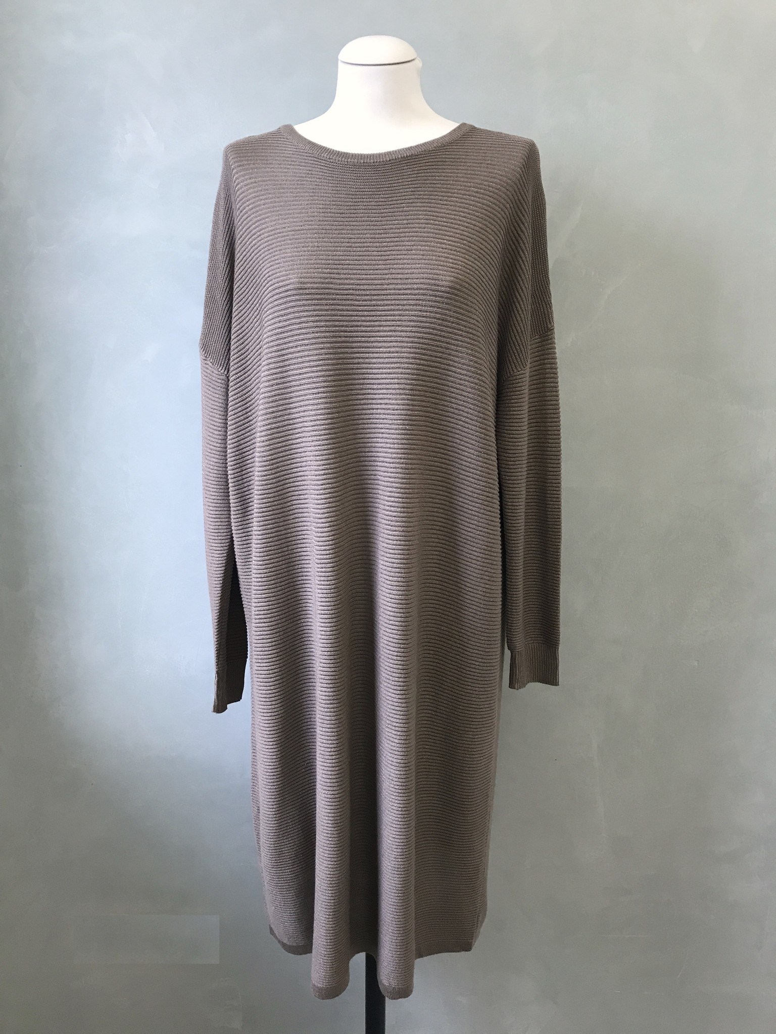 Glitter sweater frome taupe