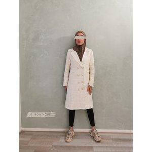 Tweed jas tipton wit