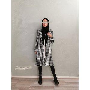 Tweed jas tipton zwart