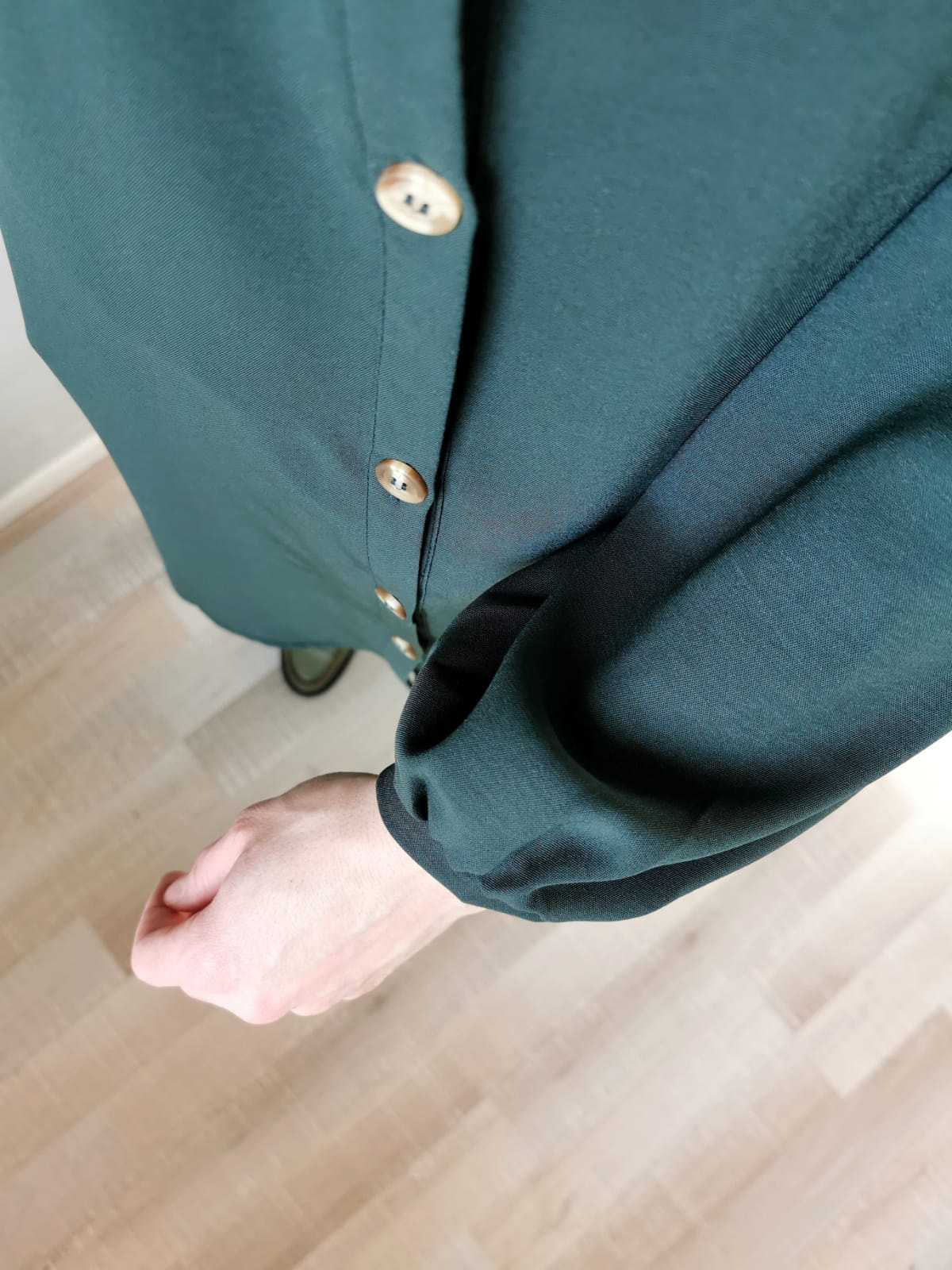 korte tuniek- groen
