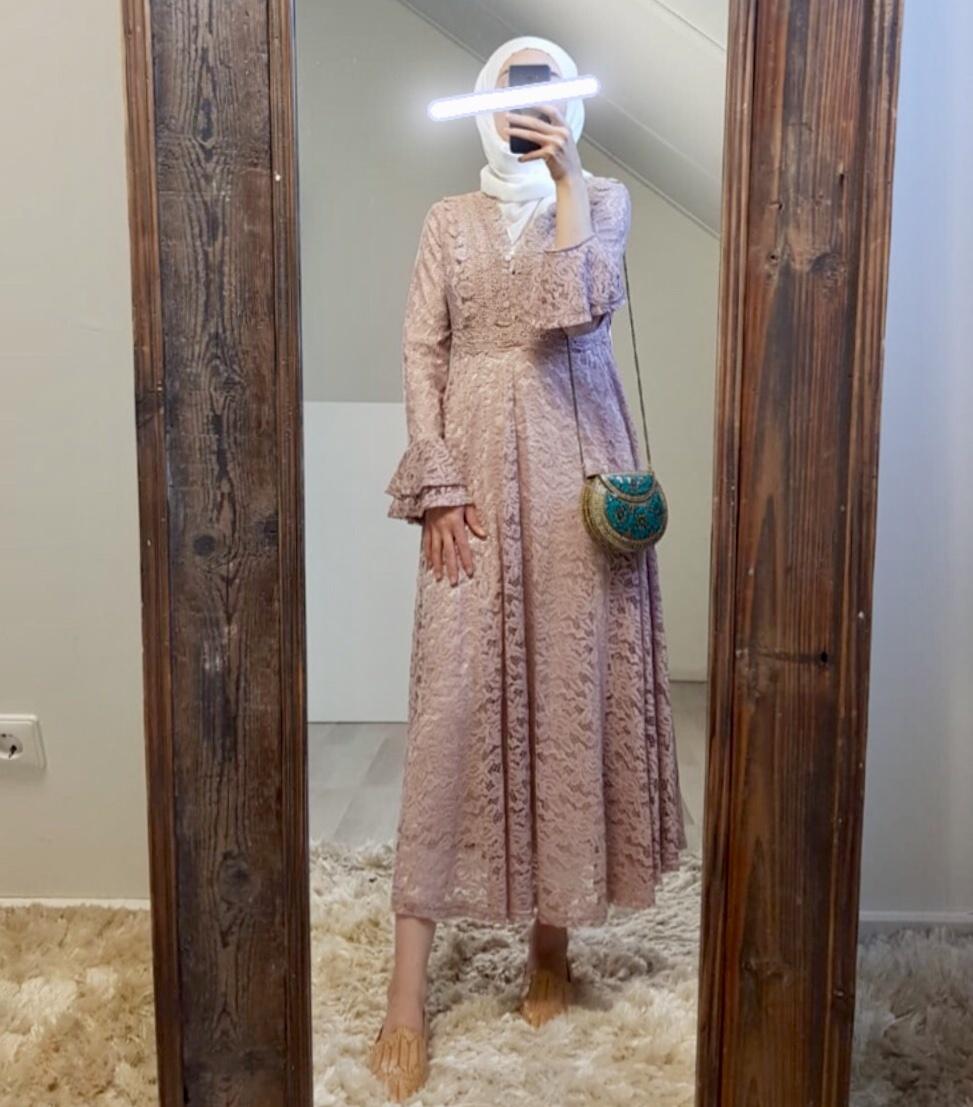 Dress Cropani pink - Copy