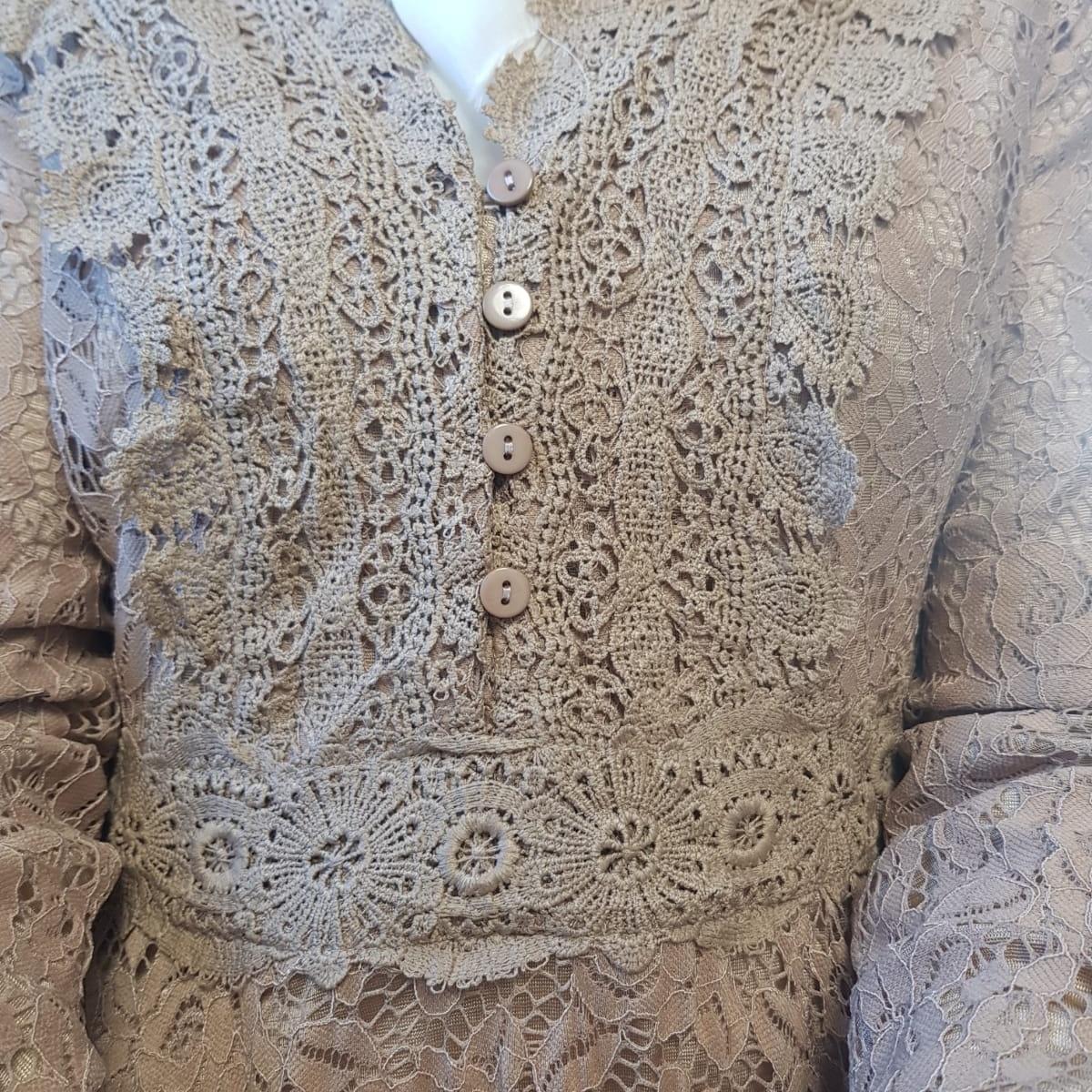 Dress Cropani light brown - Copy
