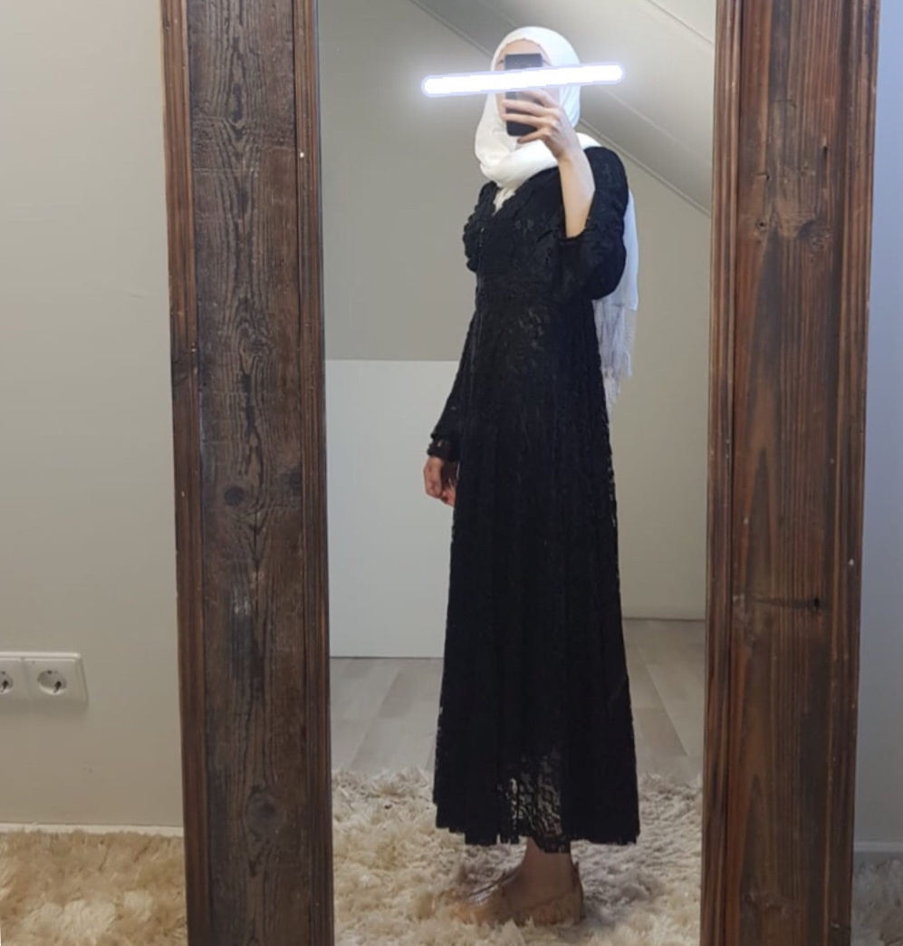 Dress Cropani black - Copy