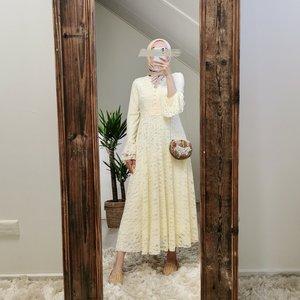 Dress Cropani creme - Copy