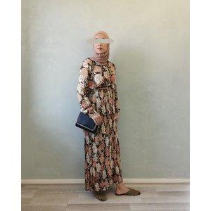 dress gorizia bruin - Copy