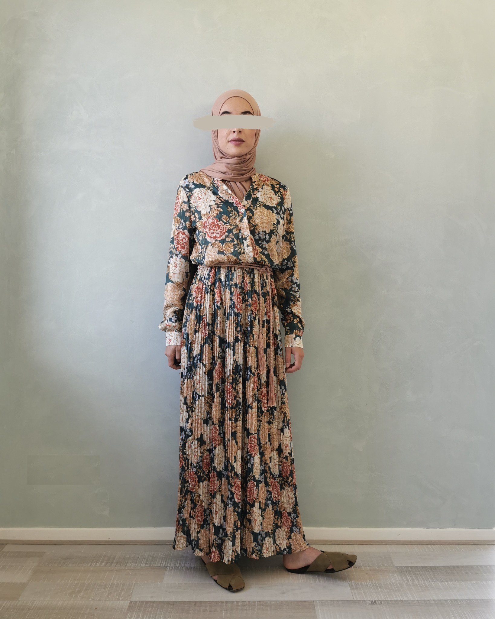 jurk gorizia groen - Copy