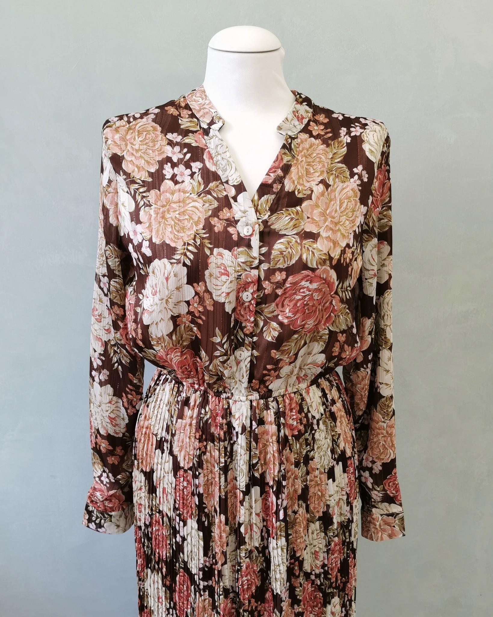 jurk gorizia bruin - Copy