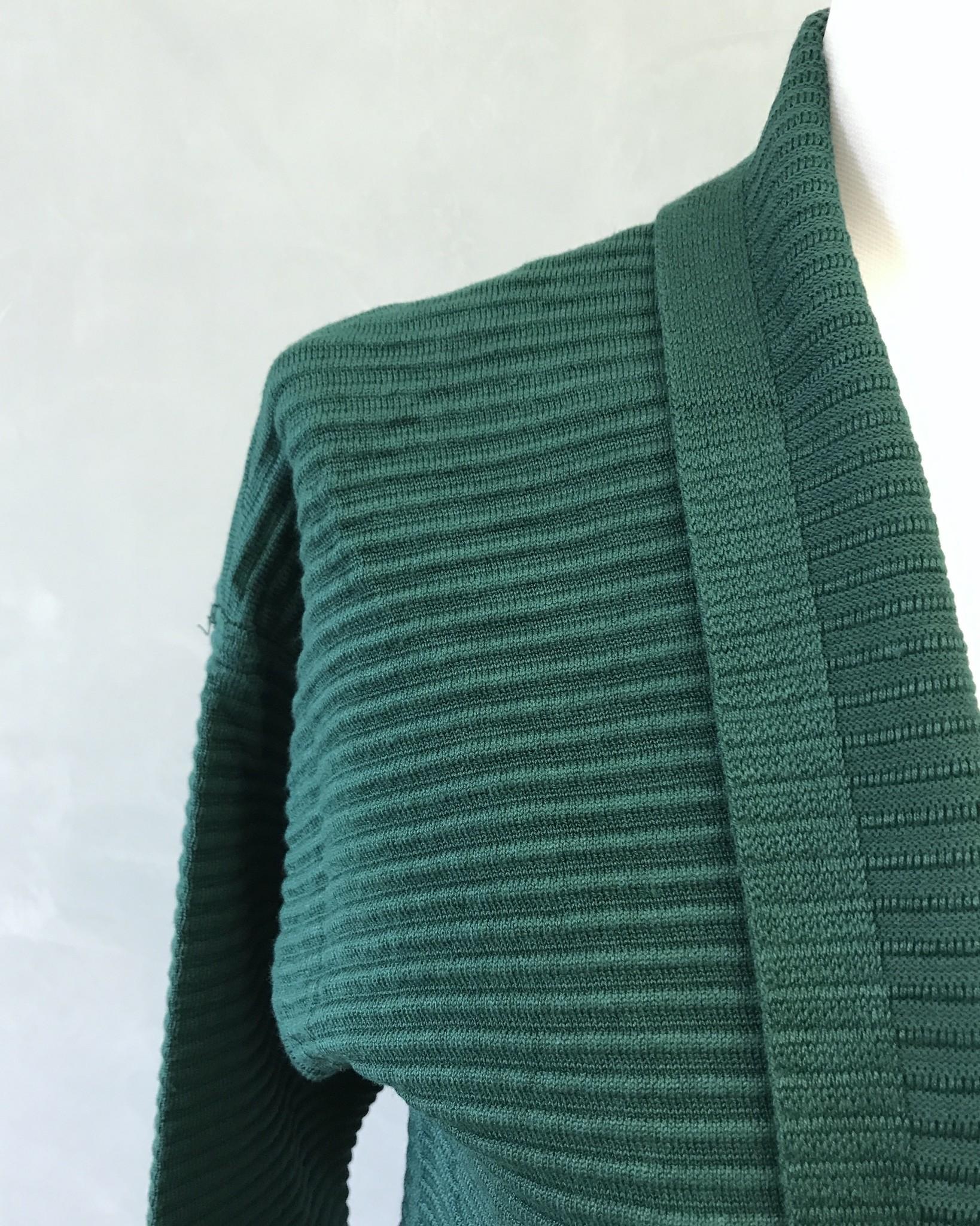 Maxi vest garganico helder groen - Copy