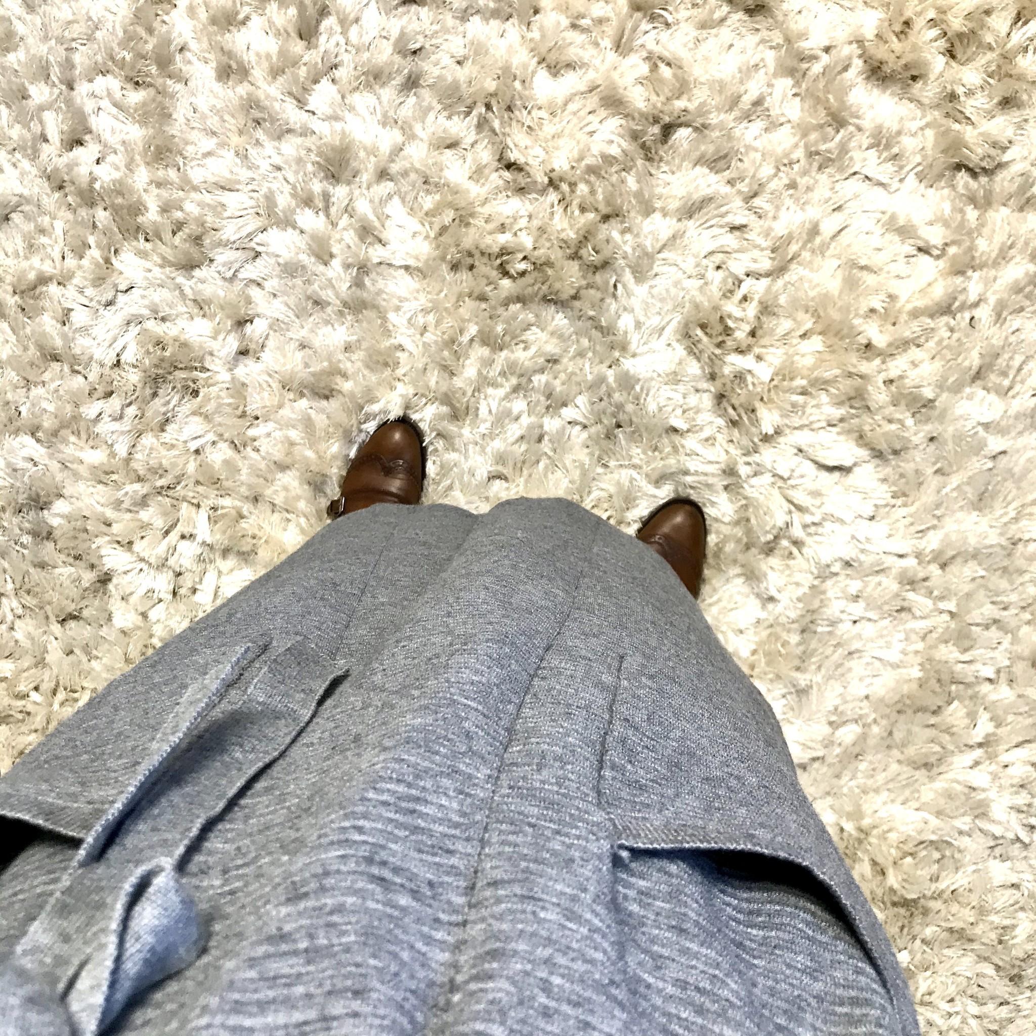 Maxi vest garganico grijs   - Copy