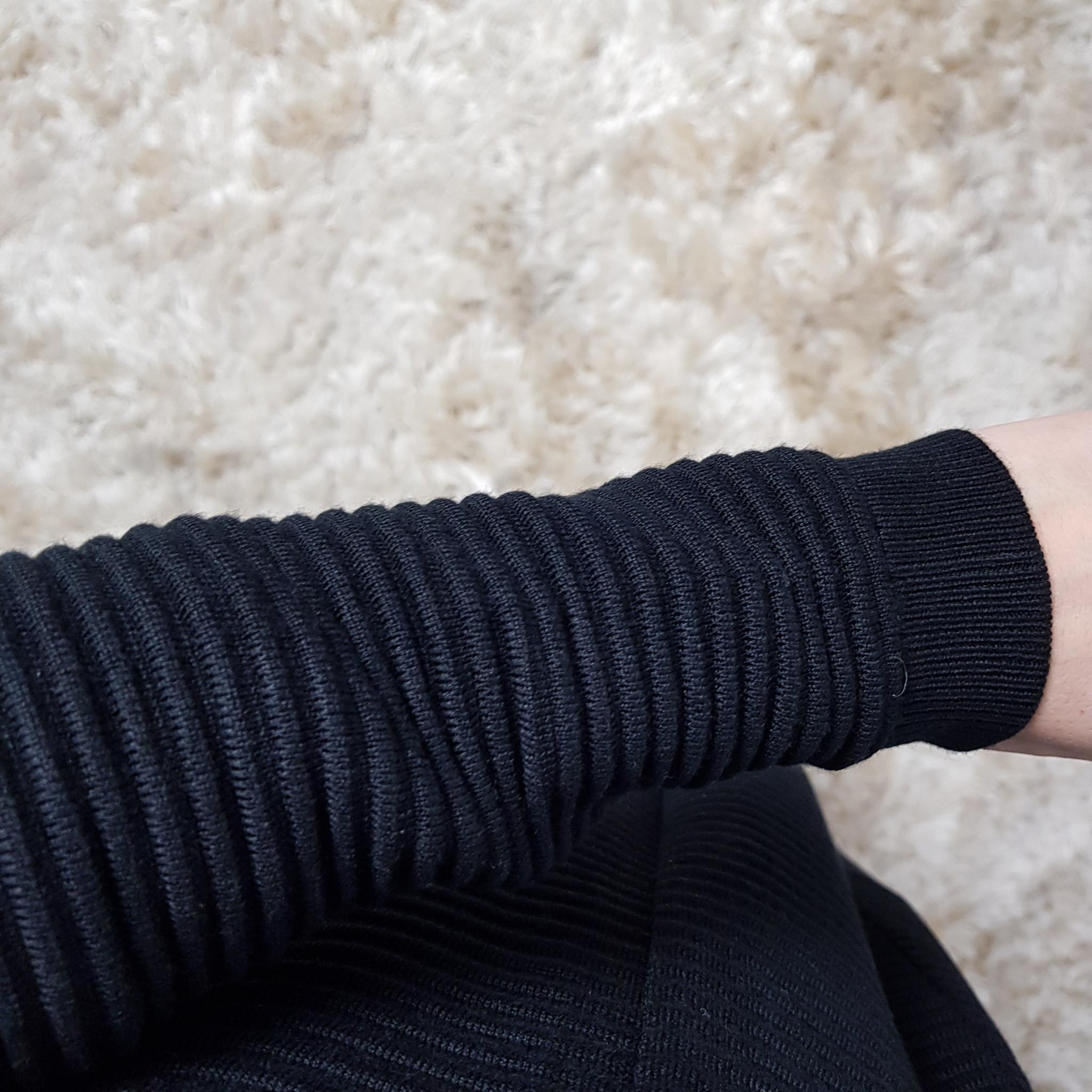 Maxi vest garganico zwart   - Copy