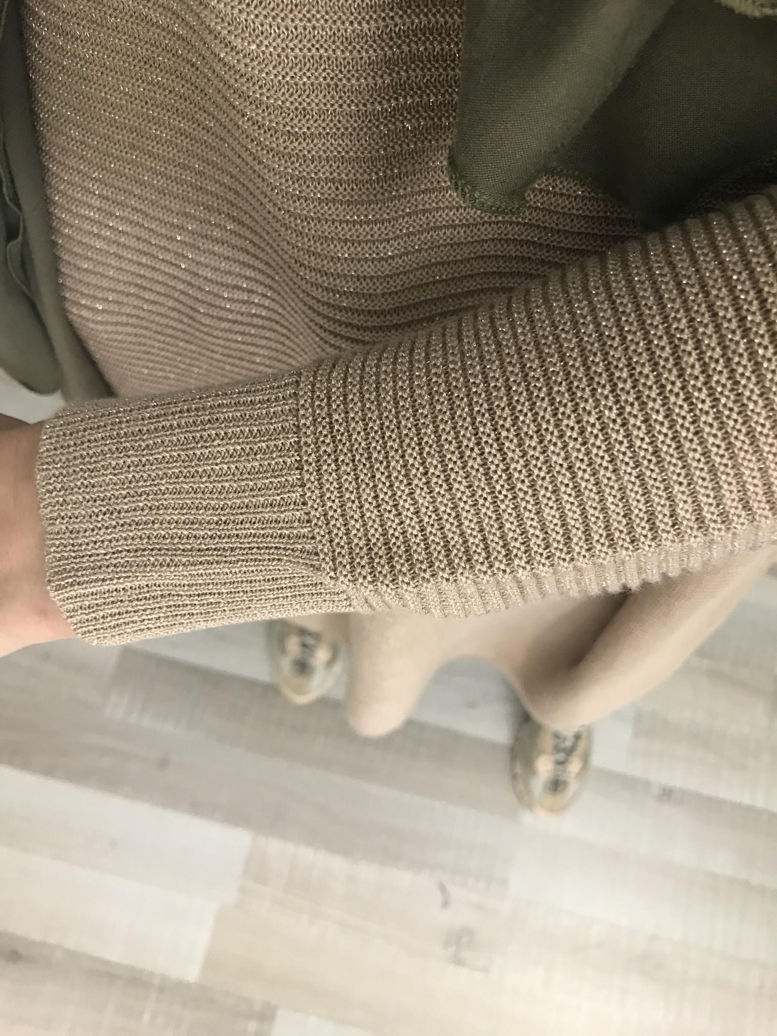 Glitter sweater frome beige - Copy