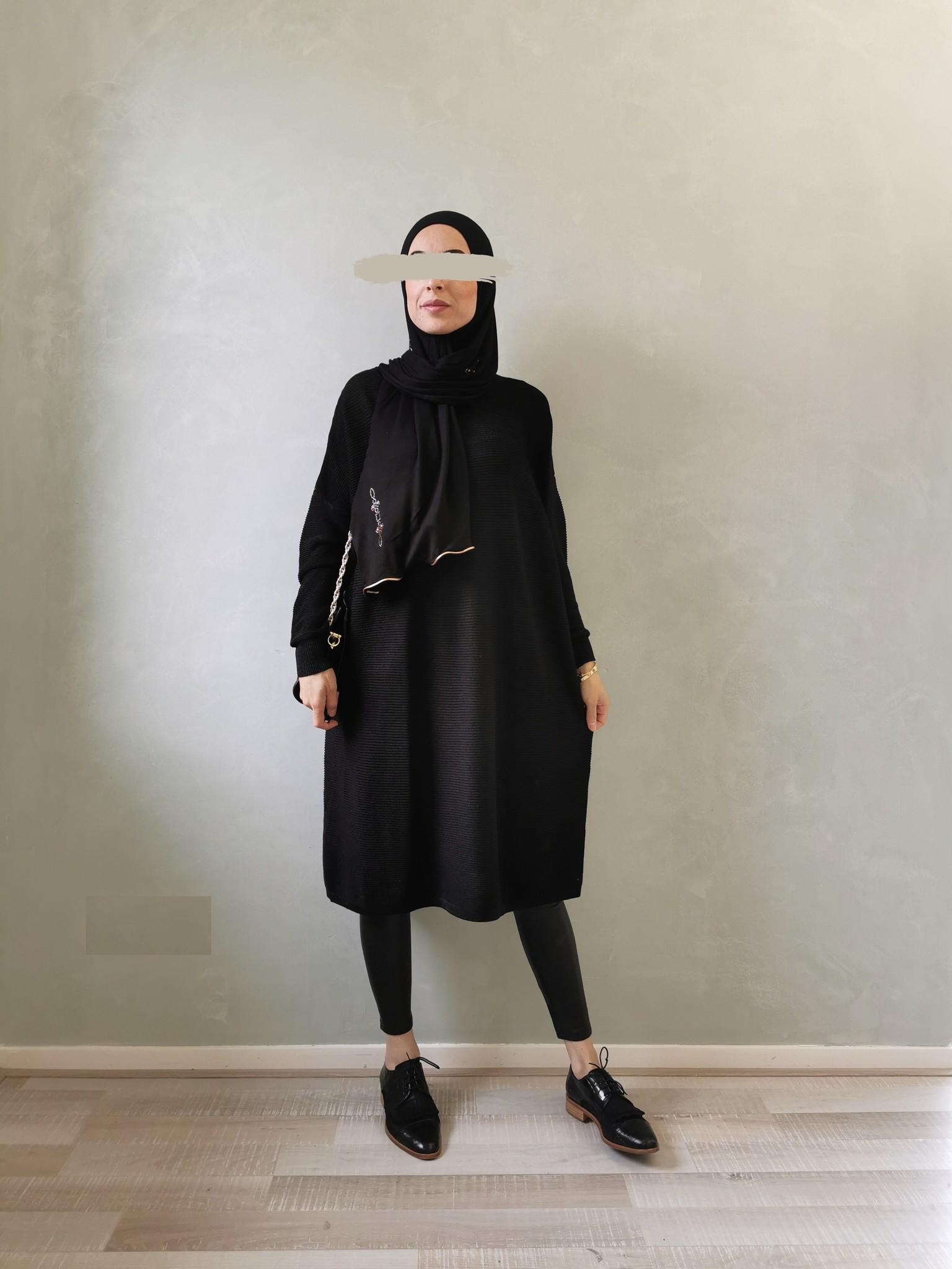 Glitter sweater frome black   - Copy