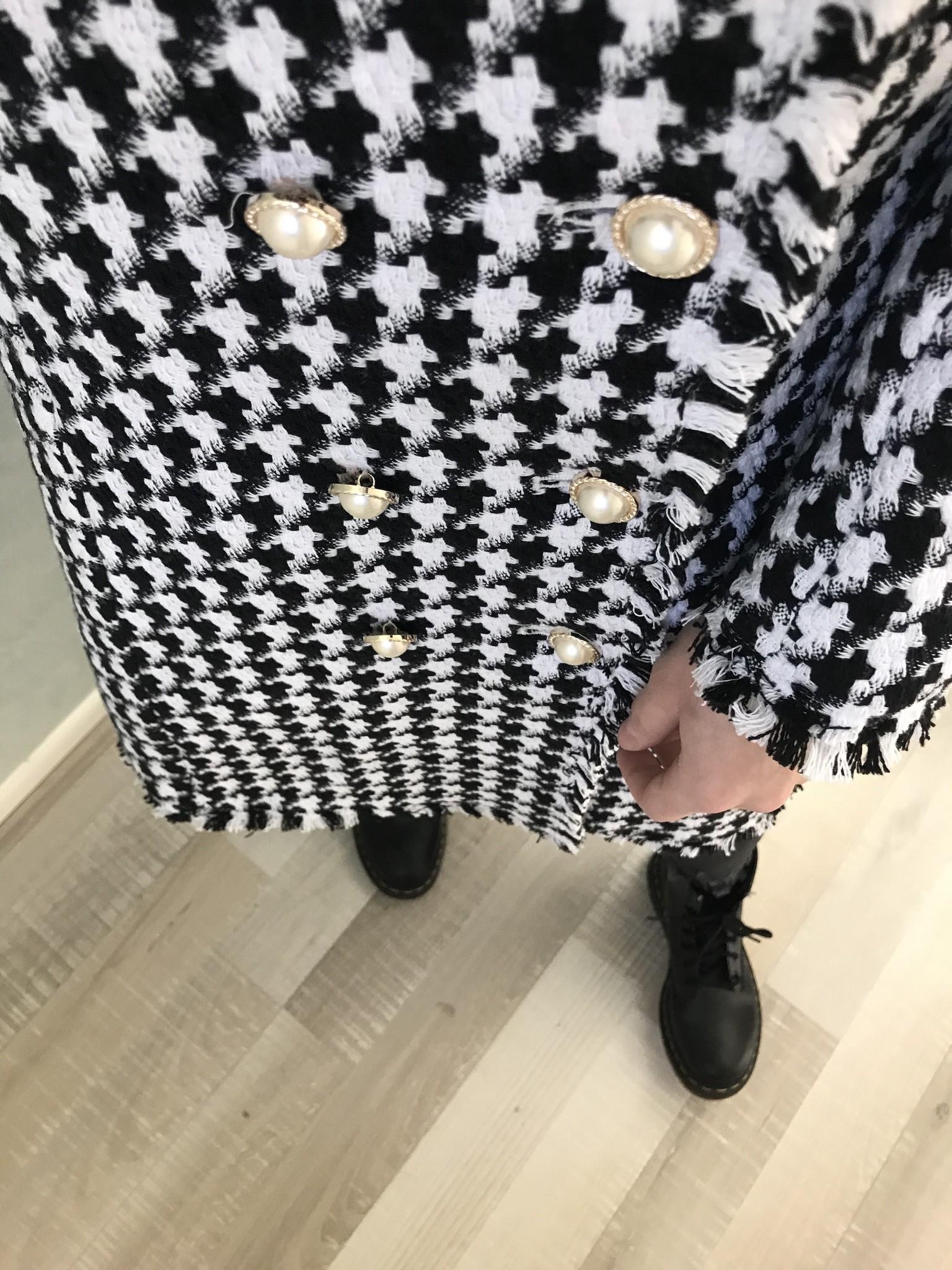 Tweed jas tipton zwart - Copy