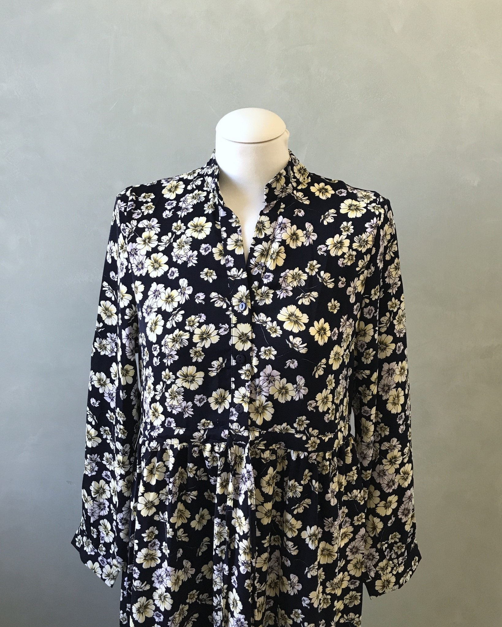 Dress godrano floral print navy