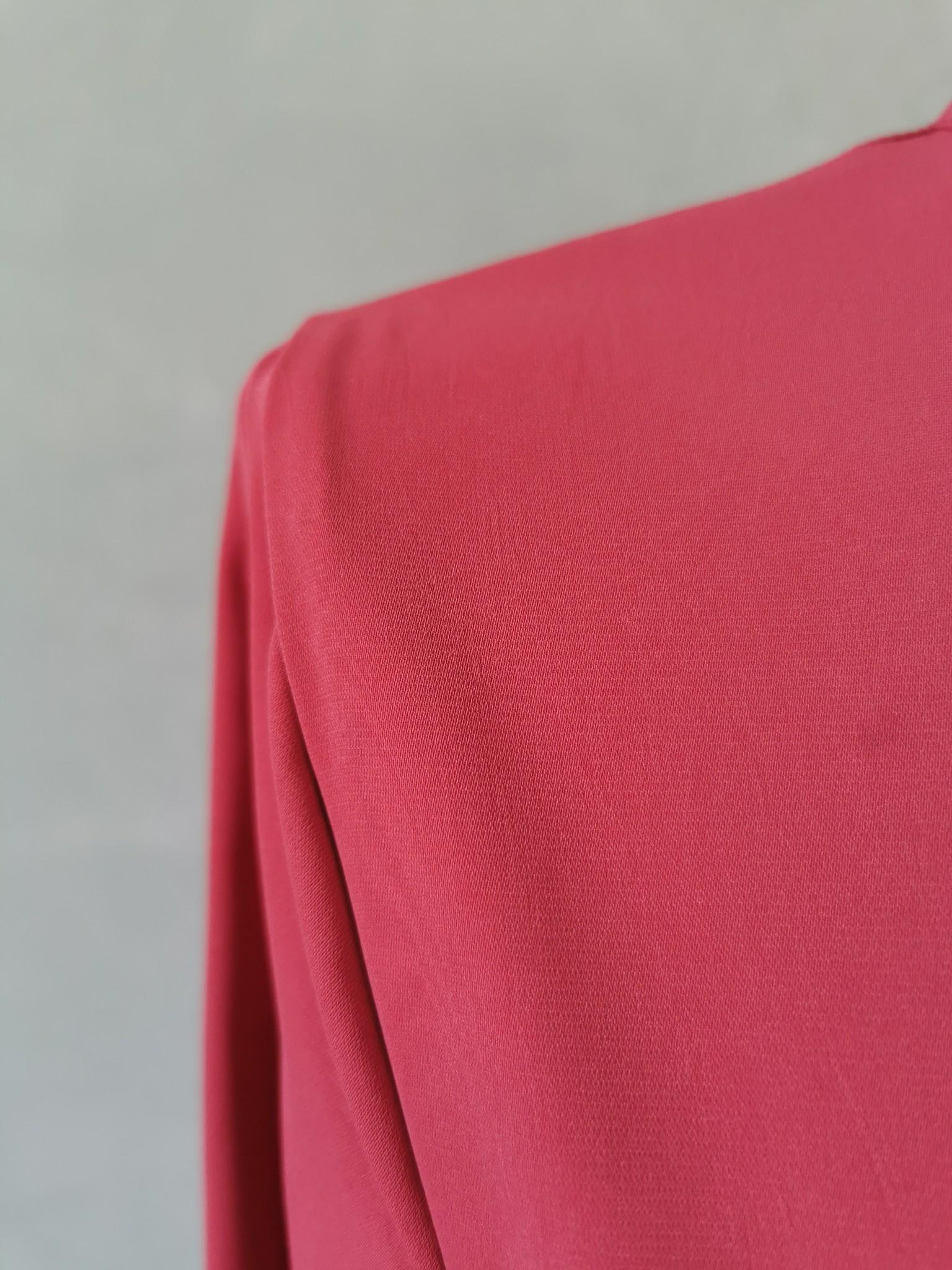 jurk capitelo koraal rood