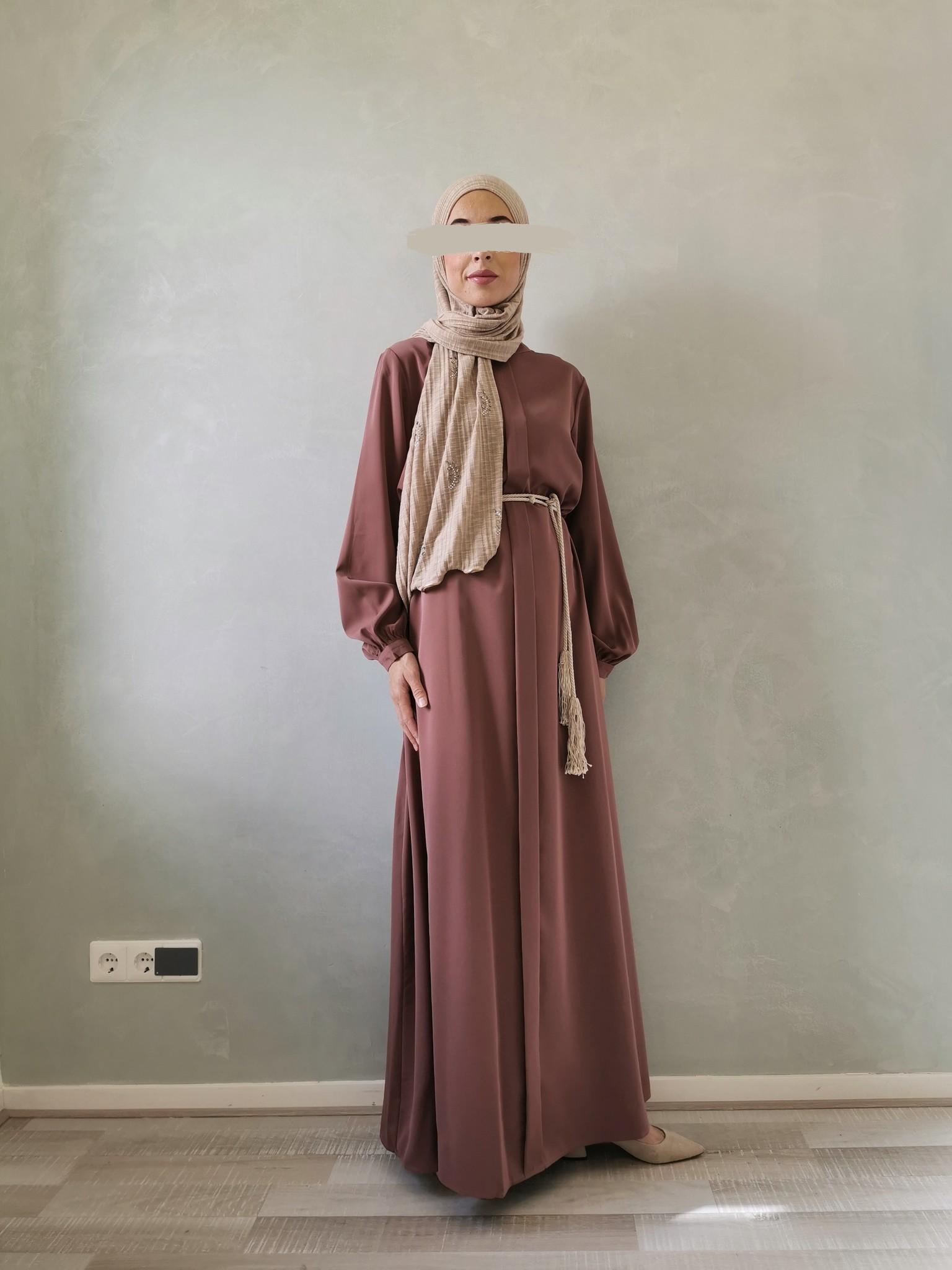 Abaya jesolo paars