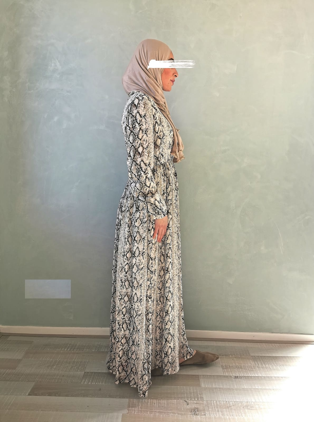 Dress frassino brown - Copy