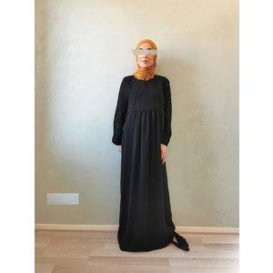 jurk caninio zwart op zwart