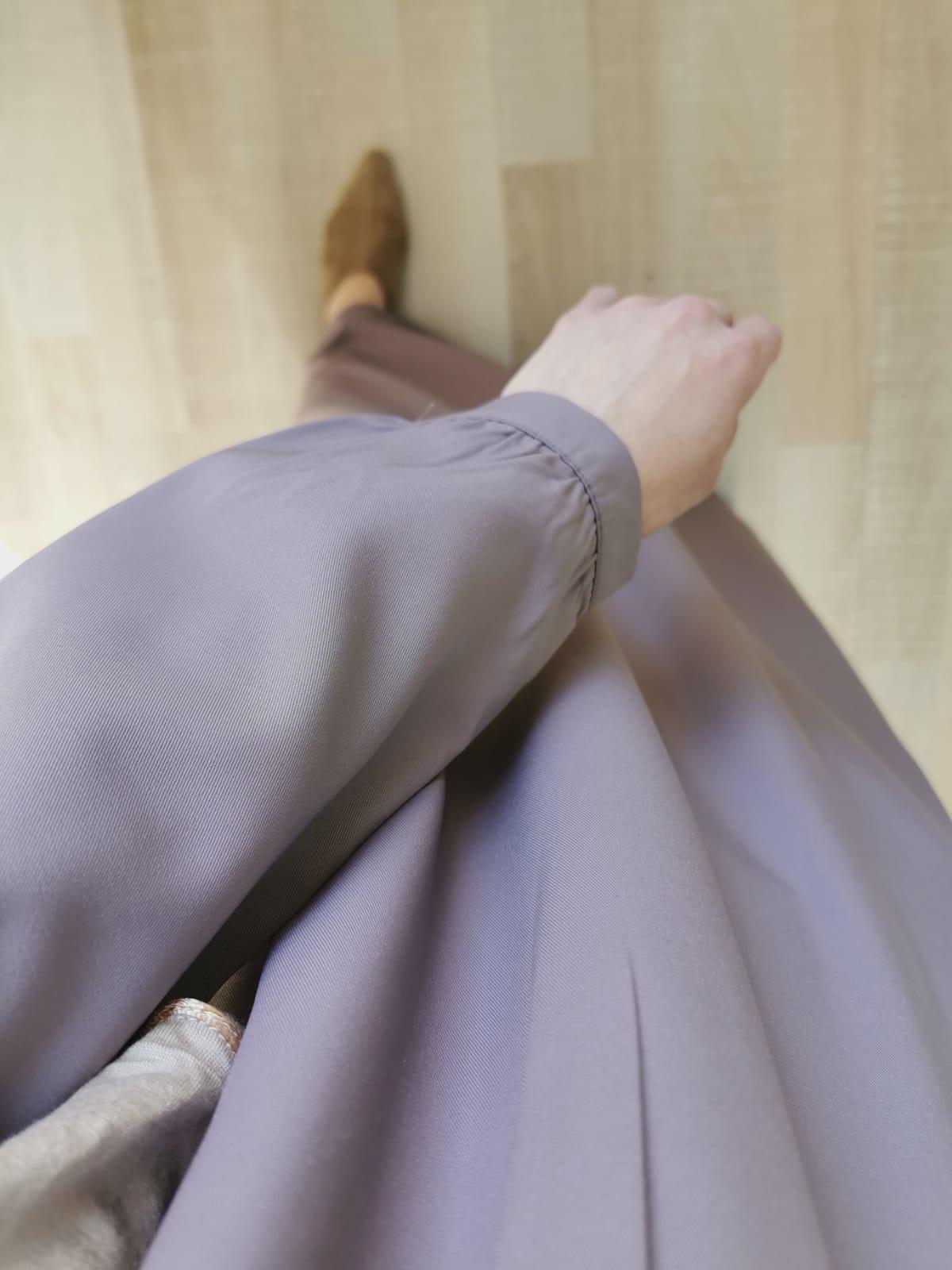 Abaya albarella lila