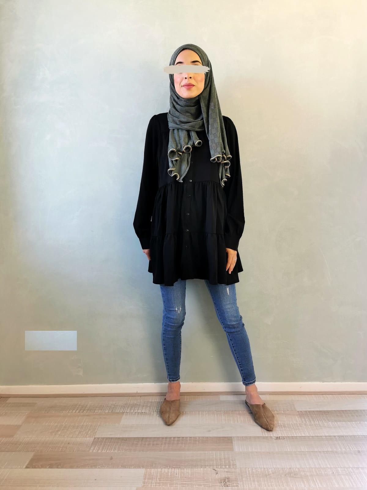 tuniek capri zwart